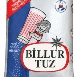 BİLLUR TUZ İYOTLU SOFRA TUZU 750GR