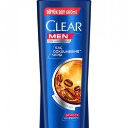 CLEAR MEN ŞAMPUAN KAHVE 600 ML